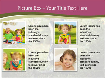 Small Girl Gardening PowerPoint Templates - Slide 14