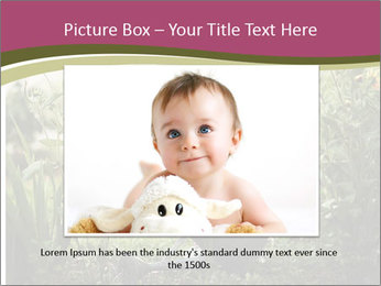 Small Girl Gardening PowerPoint Templates - Slide 16