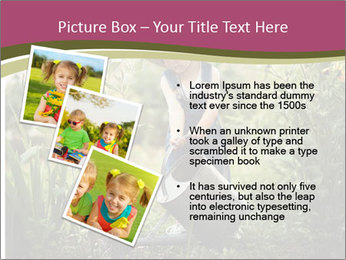 Small Girl Gardening PowerPoint Templates - Slide 17