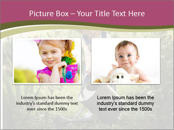 Small Girl Gardening PowerPoint Templates - Slide 18