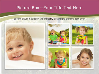 Small Girl Gardening PowerPoint Templates - Slide 19