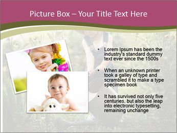 Small Girl Gardening PowerPoint Templates - Slide 20