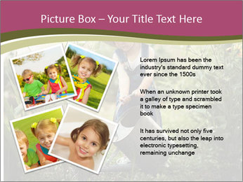 Small Girl Gardening PowerPoint Templates - Slide 23