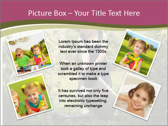 Small Girl Gardening PowerPoint Templates - Slide 24