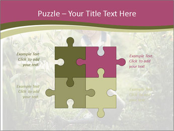 Small Girl Gardening PowerPoint Templates - Slide 43