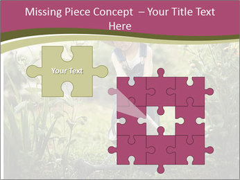 Small Girl Gardening PowerPoint Templates - Slide 45