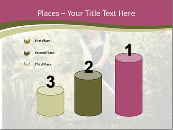 Small Girl Gardening PowerPoint Templates - Slide 65