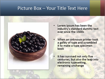 Smoothie Snack PowerPoint Template - Slide 13
