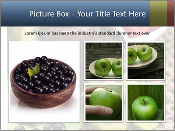 Smoothie Snack PowerPoint Template - Slide 19