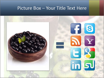 Smoothie Snack PowerPoint Template - Slide 21