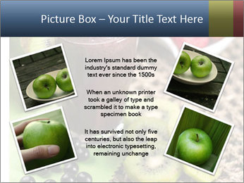 Smoothie Snack PowerPoint Template - Slide 24