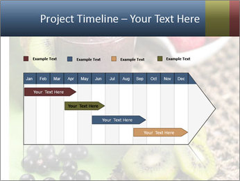 Smoothie Snack PowerPoint Template - Slide 25