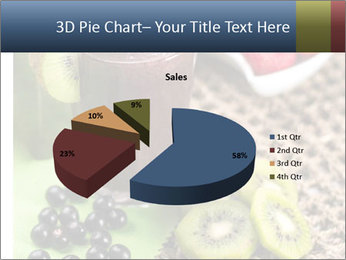 Smoothie Snack PowerPoint Template - Slide 35