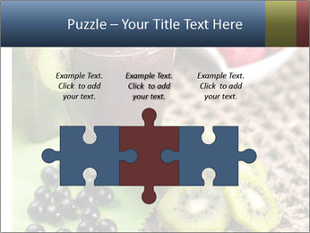 Smoothie Snack PowerPoint Template - Slide 42