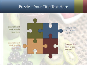 Smoothie Snack PowerPoint Template - Slide 43