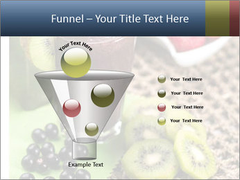 Smoothie Snack PowerPoint Template - Slide 63