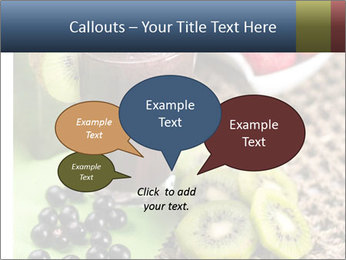 Smoothie Snack PowerPoint Template - Slide 73