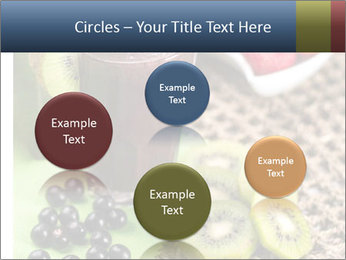 Smoothie Snack PowerPoint Template - Slide 77