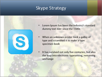 Smoothie Snack PowerPoint Template - Slide 8