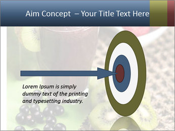 Smoothie Snack PowerPoint Template - Slide 83