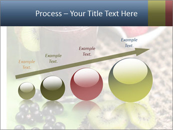Smoothie Snack PowerPoint Template - Slide 87