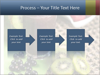 Smoothie Snack PowerPoint Template - Slide 88