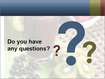 Smoothie Snack PowerPoint Template - Slide 96