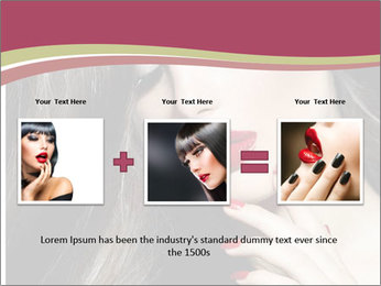 Polished Fashion Model Portrait PowerPoint Templates - Slide 22