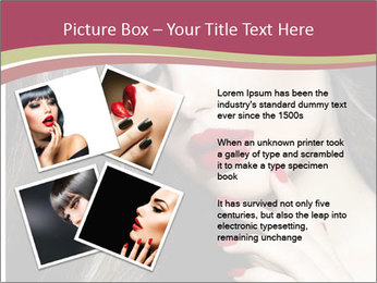 Polished Fashion Model Portrait PowerPoint Templates - Slide 23