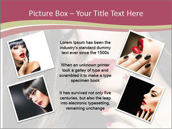 Polished Fashion Model Portrait PowerPoint Templates - Slide 24