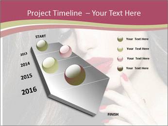 Polished Fashion Model Portrait PowerPoint Templates - Slide 26