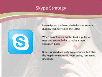Polished Fashion Model Portrait PowerPoint Templates - Slide 8