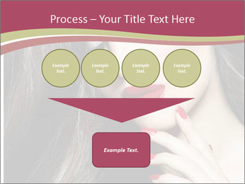 Polished Fashion Model Portrait PowerPoint Templates - Slide 93