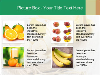 Freshly Sliced Banana PowerPoint Template - Slide 14