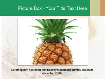 Freshly Sliced Banana PowerPoint Template - Slide 15