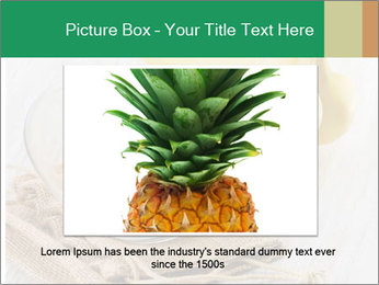 Freshly Sliced Banana PowerPoint Template - Slide 16