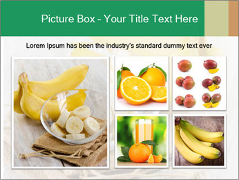 Freshly Sliced Banana PowerPoint Template - Slide 19