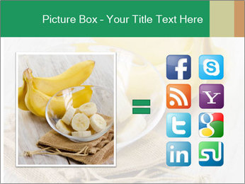 Freshly Sliced Banana PowerPoint Template - Slide 21