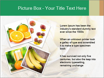 Freshly Sliced Banana PowerPoint Template - Slide 23