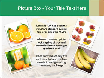 Freshly Sliced Banana PowerPoint Template - Slide 24