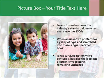 Happy Kindergarten Kids PowerPoint Template - Slide 13