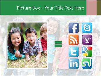 Happy Kindergarten Kids PowerPoint Template - Slide 21
