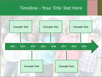 Happy Kindergarten Kids PowerPoint Template - Slide 28