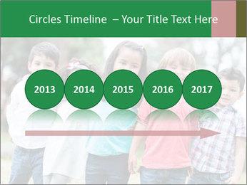 Happy Kindergarten Kids PowerPoint Template - Slide 29