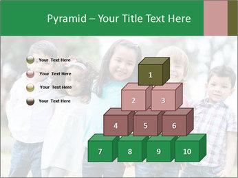 Happy Kindergarten Kids PowerPoint Template - Slide 31