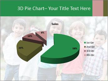 Happy Kindergarten Kids PowerPoint Template - Slide 35