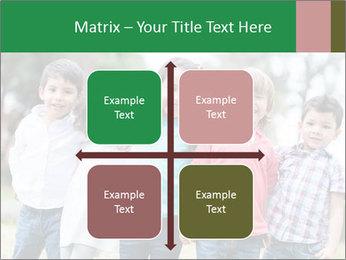Happy Kindergarten Kids PowerPoint Template - Slide 37