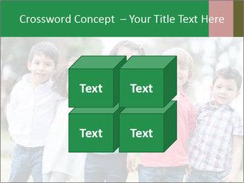 Happy Kindergarten Kids PowerPoint Template - Slide 39