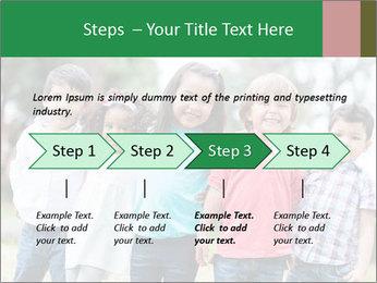 Happy Kindergarten Kids PowerPoint Template - Slide 4