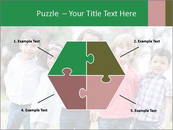 Happy Kindergarten Kids PowerPoint Template - Slide 40